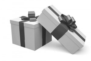 Picture of gift boxes