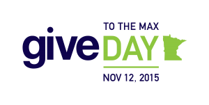 Give to the Max logo from GiveMN.org
