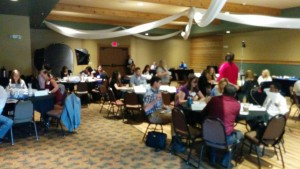 Picture of Emerging Leaders session