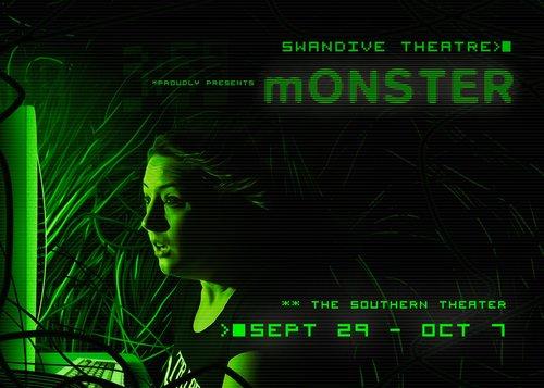 mONSTER theater poster
